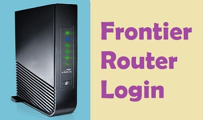 Frontier Router Login