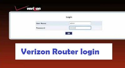 Verizon Router login